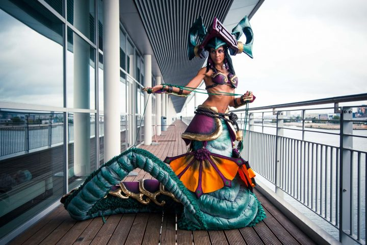 Jade Fang Cassiopeia - League of Legends - Umaslady cosplay